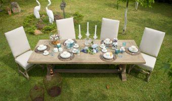 שולחן לגינה