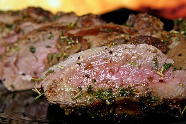 גריל גז להכנת בשר